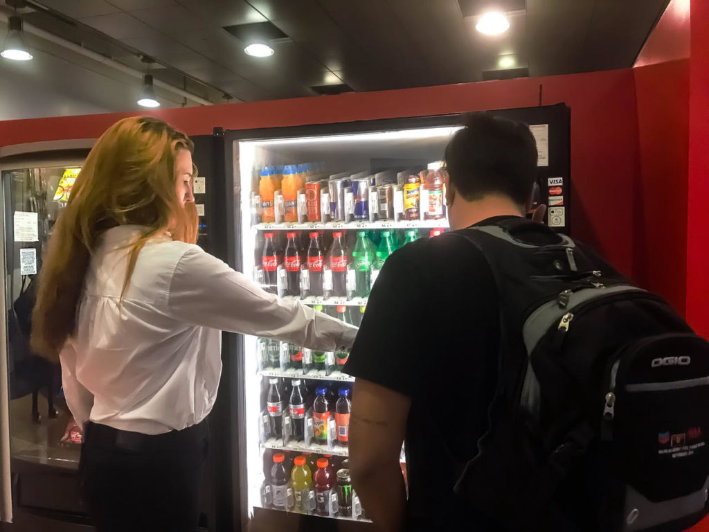 Vending Machine at Universoty